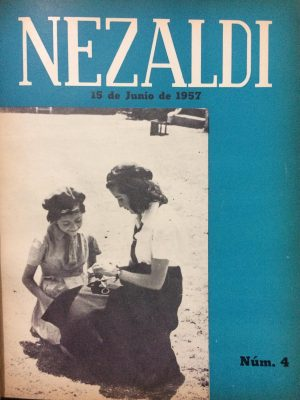 Portada Nezaldi No. 4, junio - agosto1957
