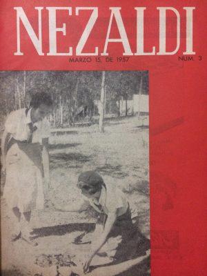Portada Nezaldi No. 3, marzo - mayo 1957